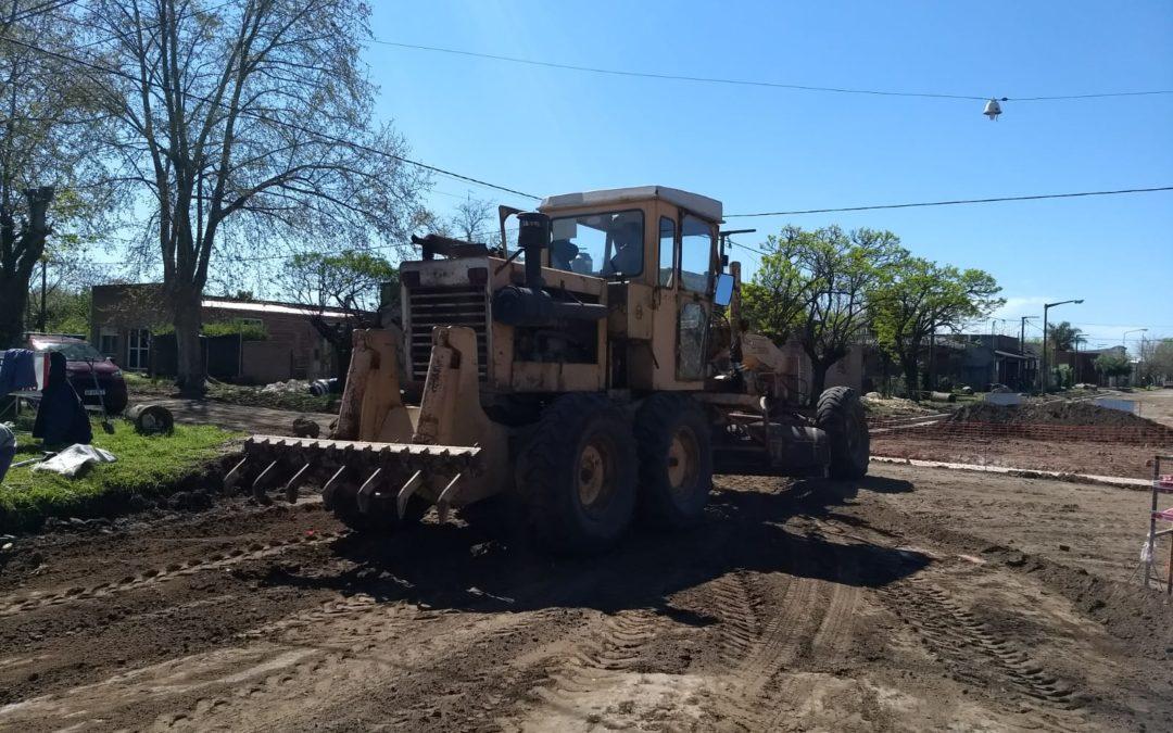Plan Municipal de Mejorado de Calles: avanzan las obras en O´Higgins