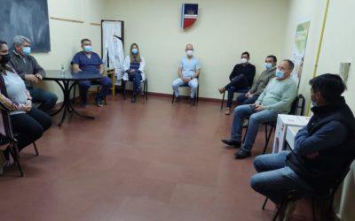 Autoridades de Salud en reunión con Delegados y Directores de hospitales de las localidades