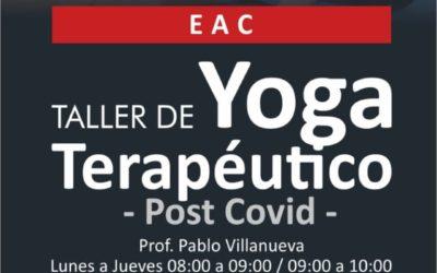 Taller de Yoga post Covid en la EAC
