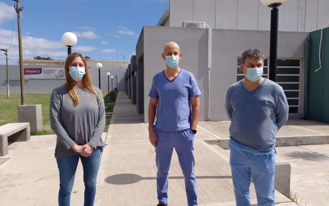 Salud: no hay internados por covid-19 en el Hospital Municipal «Nuestra señora del Carmen».
