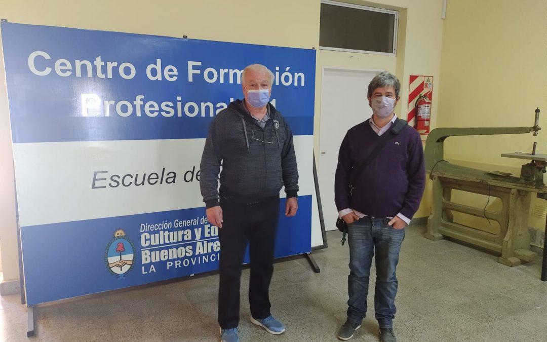 Formaciones para el trabajo 2022: visita al Centro de Formación Profesional